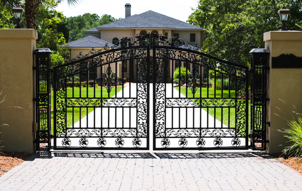 Commercial driveway gates southwest florida security
