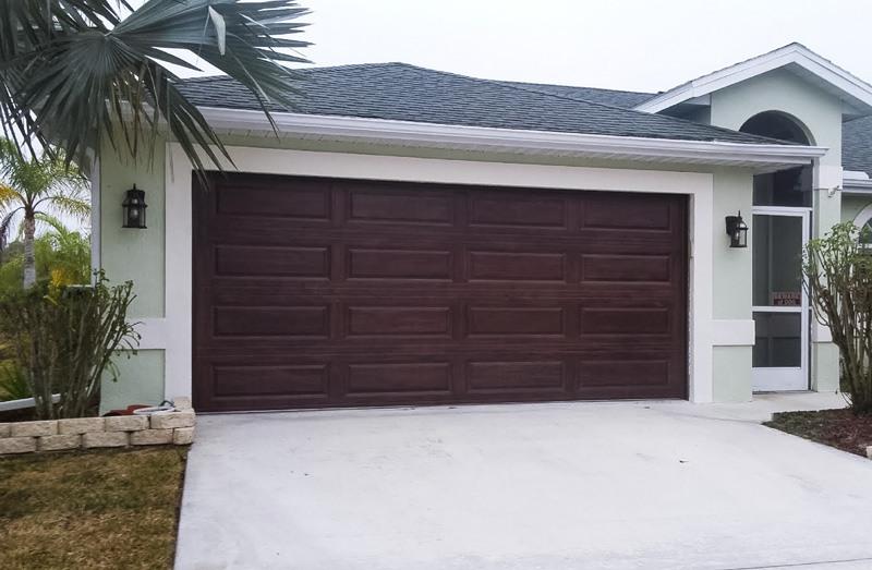 Sarasota photo gallery of garage door styles in southwest for Garage door repair port charlotte fl